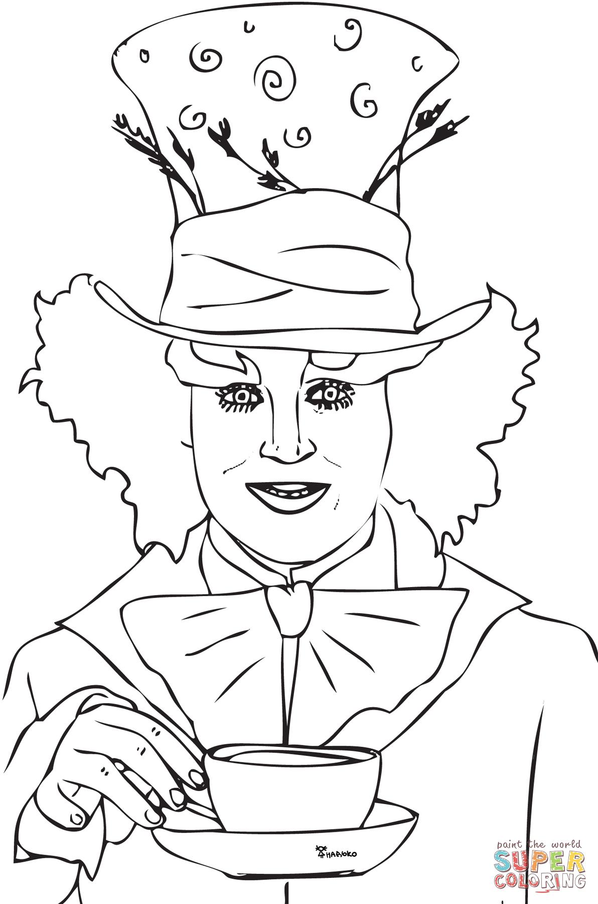 1192x1800 Tim Burton Alice Cartoon