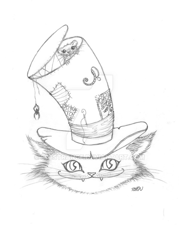 600x753 Cheshire Cat By Blestrange