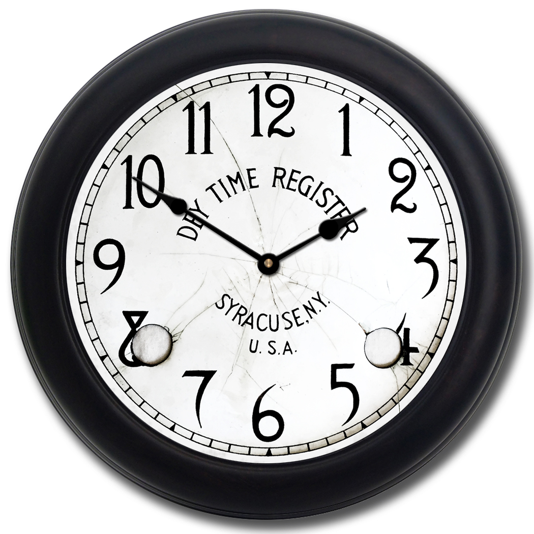 1050x1050 Dey Time Clock Available To Buy The Big Clock Store Online