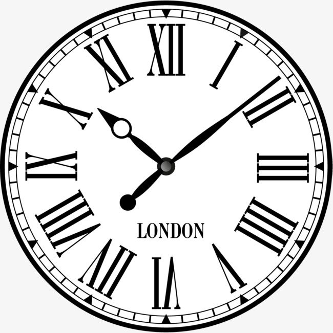 650x651 Rome Digital Dial Clock, British Time, Clock, Time Png And Vector