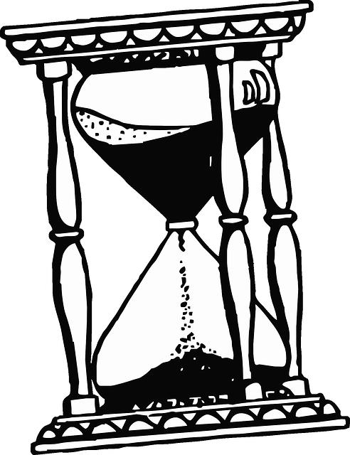 492x640 Sand, Glass, Drawing, Cartoon, Time, Free, Hour, Clock