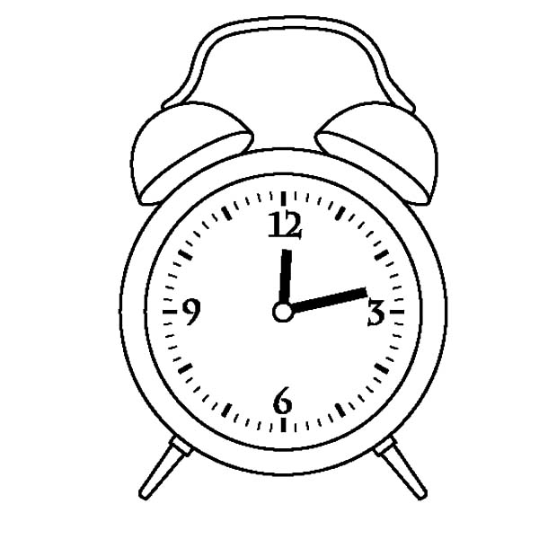600x600 Time Clock Coloring Pages Best Place To Color