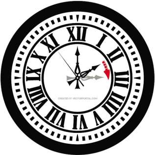 316x316 Alarm Clock Drawing Free Vector 123freevectors
