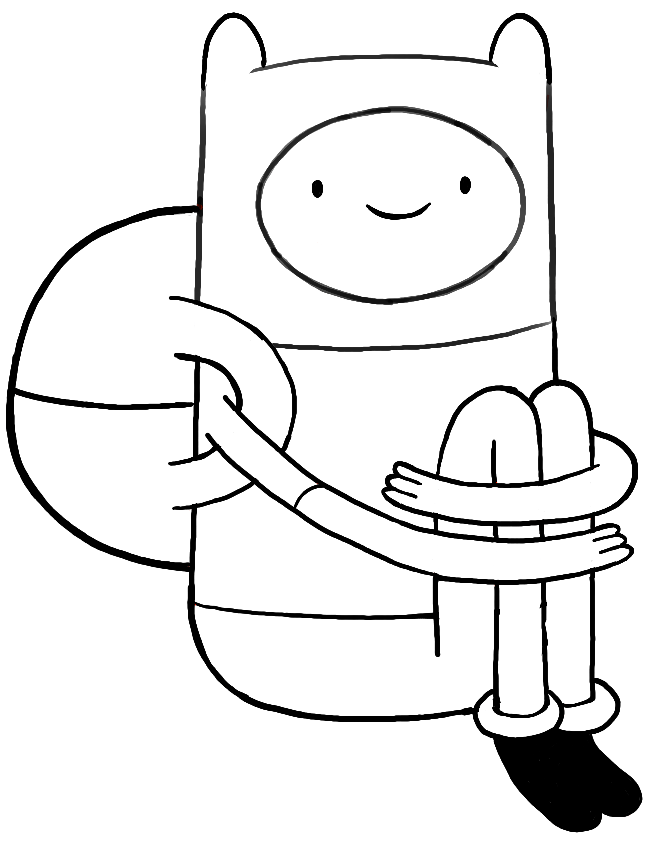 651x842 How To Draw Finn From Adventure Time With Simple Step By Step