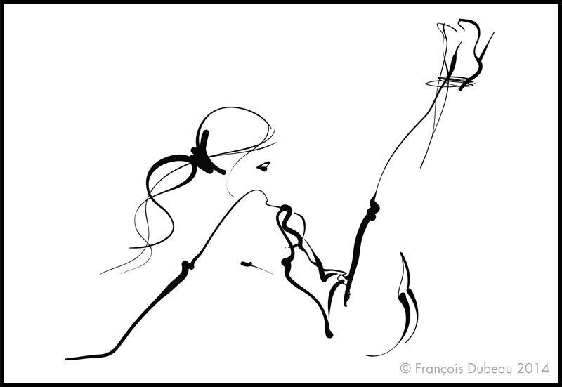 800x551 Francois Dubeau Ilustracion Erotica 17 Drawing