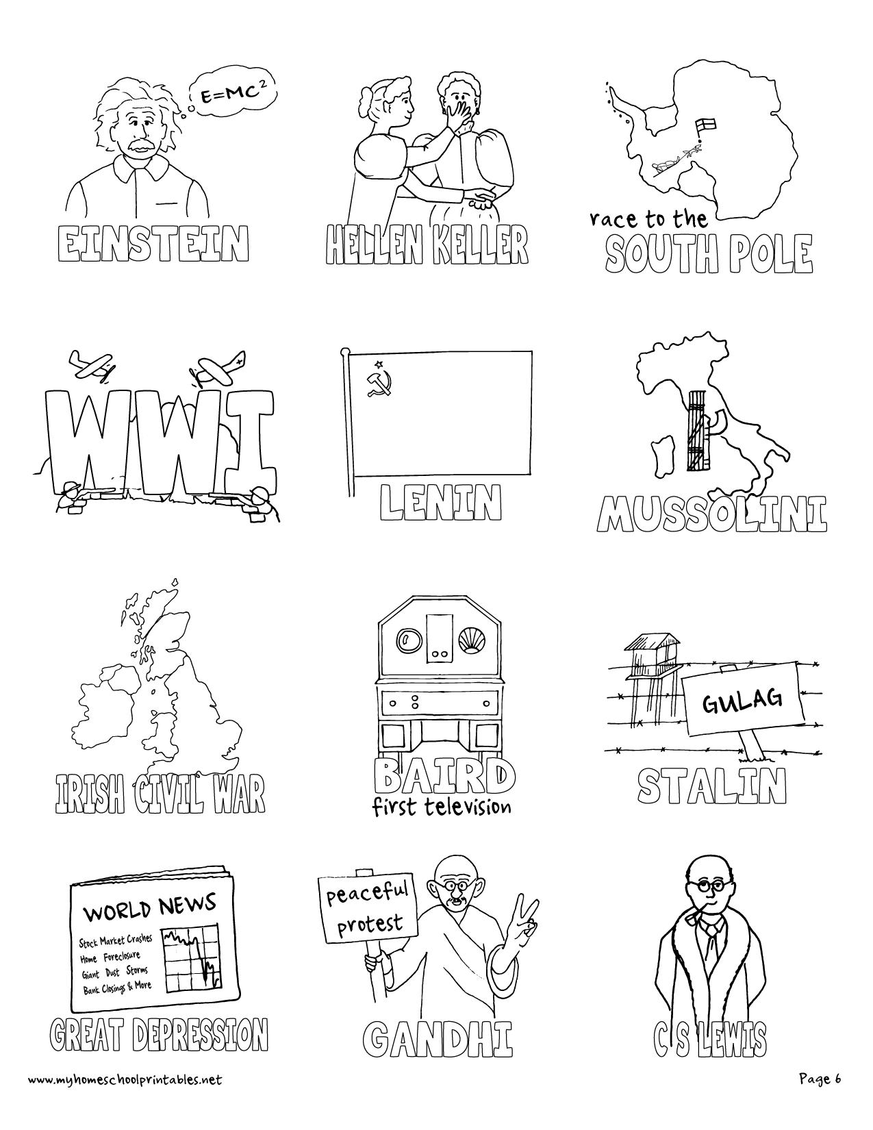1275x1650 My Homeschool Printables Timeline Figures Volume 4
