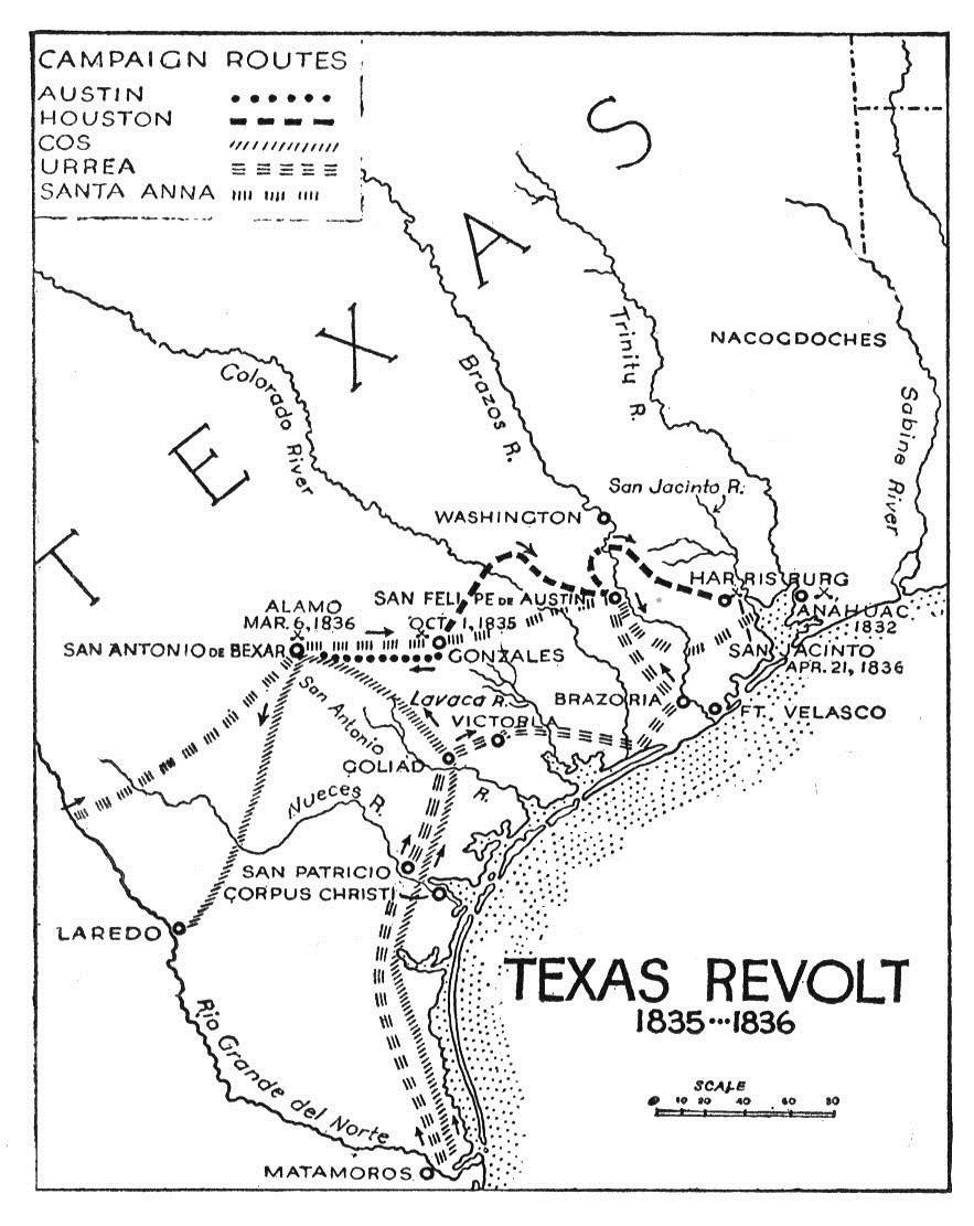 883x1111 Texan Revolution Timeline