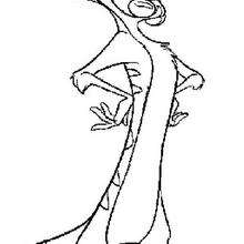 220x220 Handsome Timon Coloring Pages