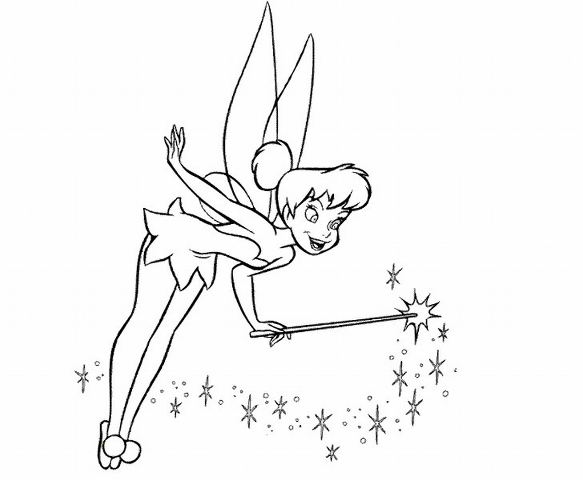 1200x989 Free Printable Tinkerbell Coloring Pages For Kids