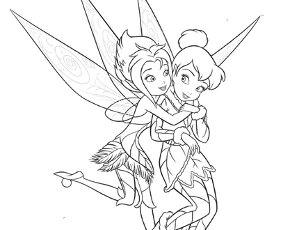 440x330 9 Tinkerbell And Friends Coloring Pages, Tinkerbell And Fairy