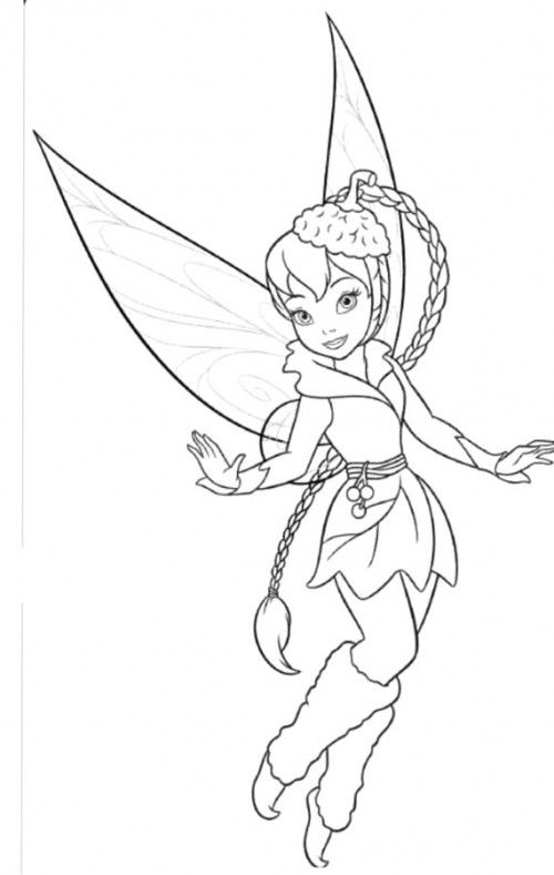 500x789 Tinkerbell And Friends Coloring Pages
