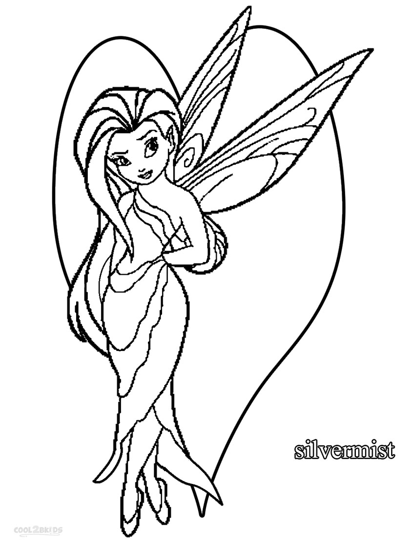 850x1113 Printable Disney Fairies Coloring Pages For Kids Cool2bkids
