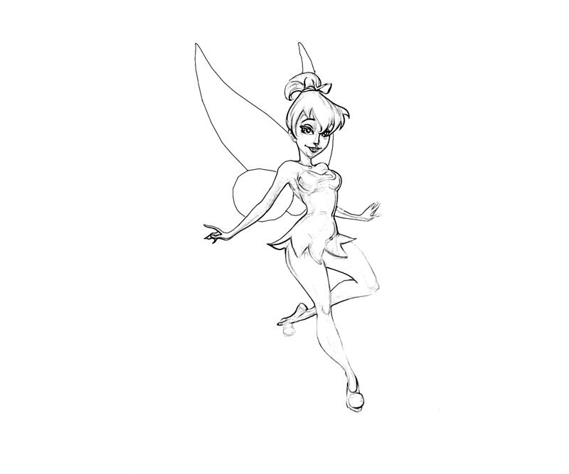 800x667 Tinker Bell Drawing 297728