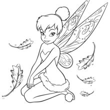 220x220 Tinkerbell Drawing Free Download