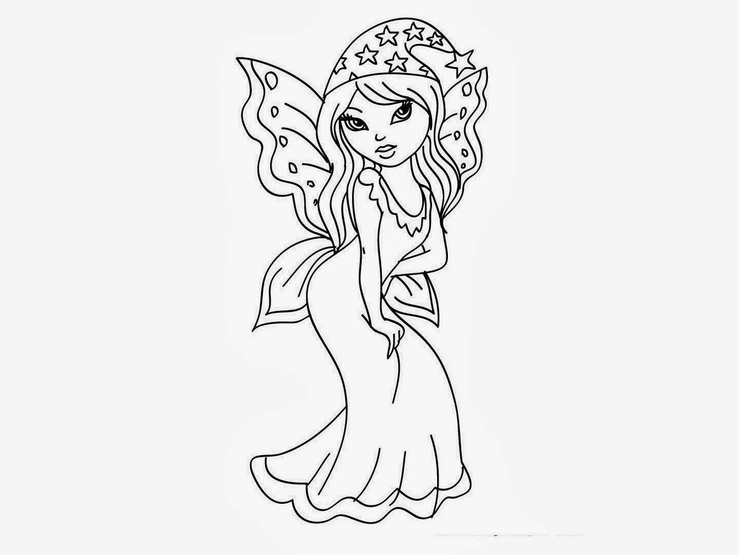 1442x1084 Baby Fairy Drawings How To Draw Chibi Tinkerbell