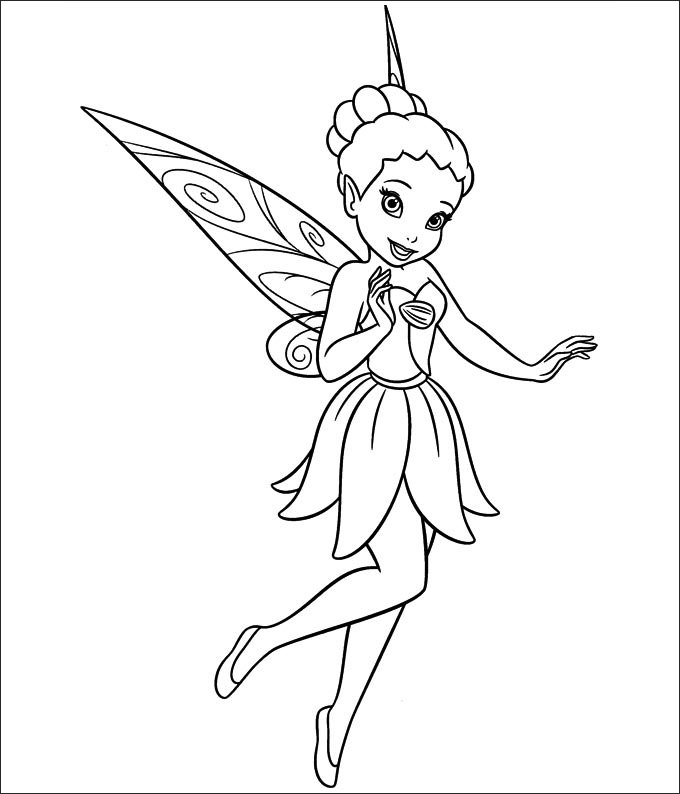 680x794 Tinkerbell Printable Pictures 30 Tinkerbell Coloring Pages Free