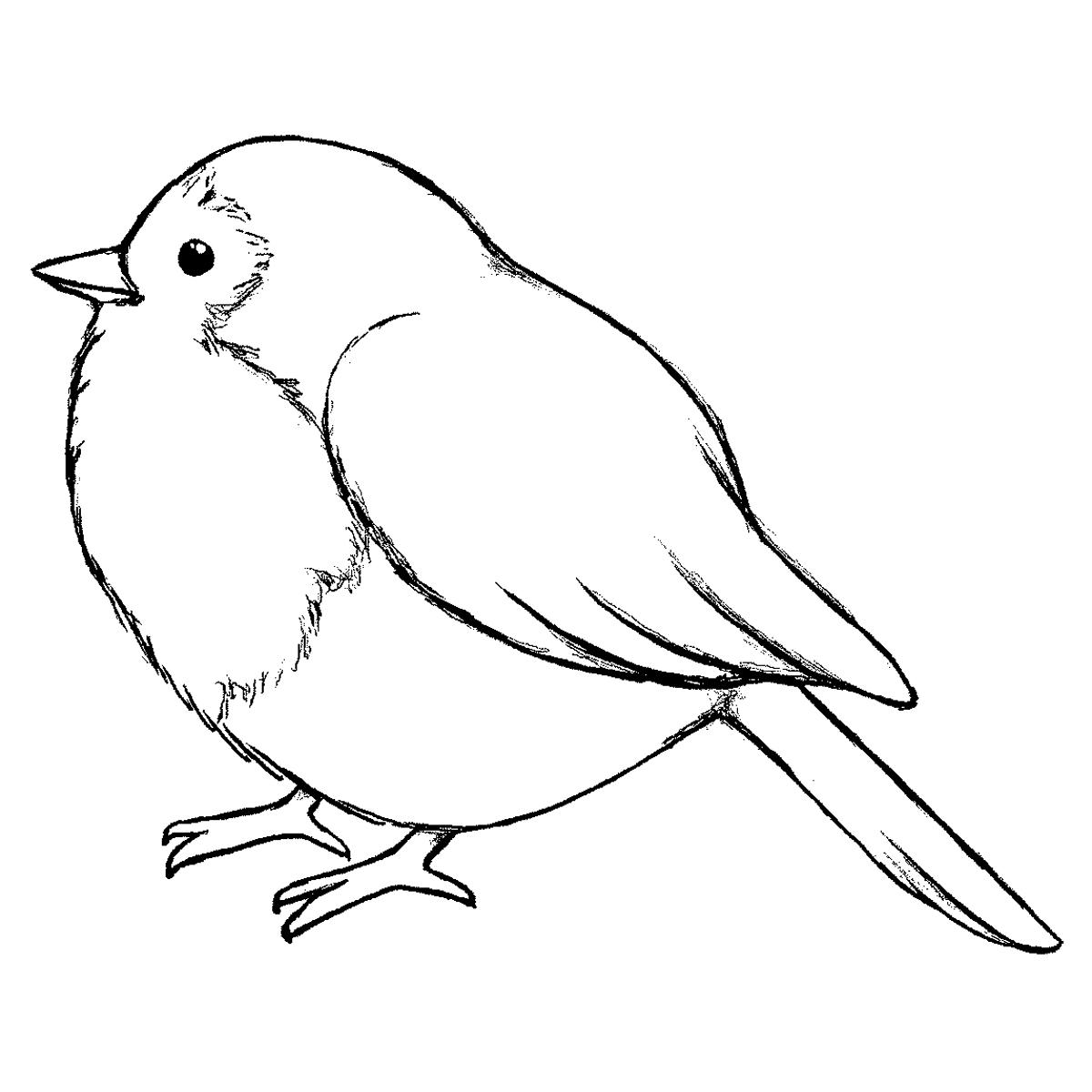 1200x1200 Magenta Cling Timbres A Tiny Bird Digital Images