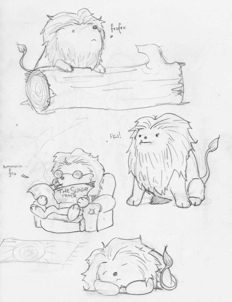 768x997 Tiny Hamster Potato Lion By Fourlegs