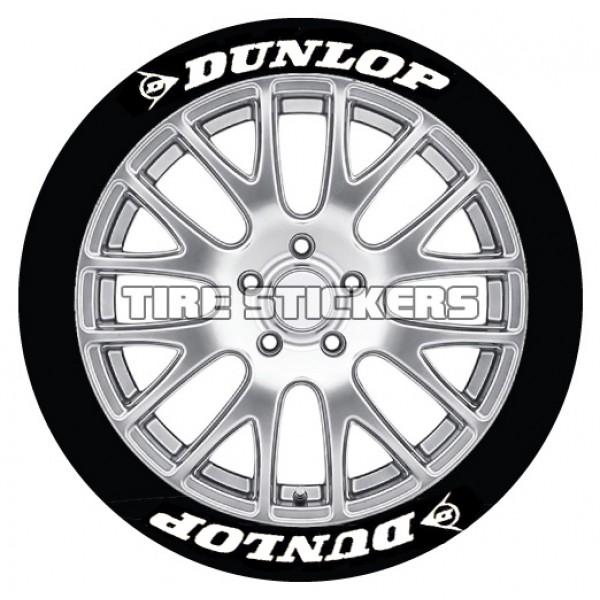 600x600 Dunlop Tire Stickers