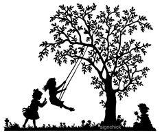 236x196 Tree Swing Drawing As I Like To Draw Trees. Drawings