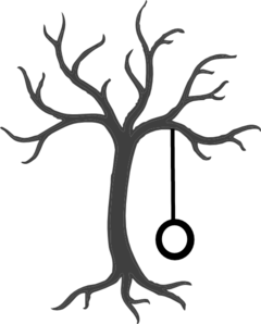 240x298 Tree With Tire Swing Clip Art