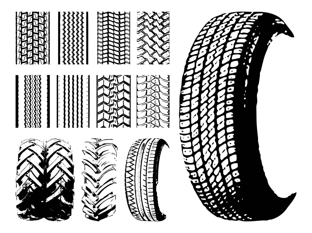 1024x765 Tires And Tire Prints Vector Art Amp Graphics