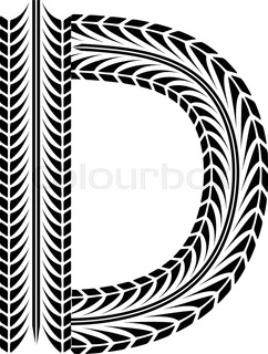 242x320 Black Numbers Silhouette In Tire Tracks Form. Eps10 Stock Vector