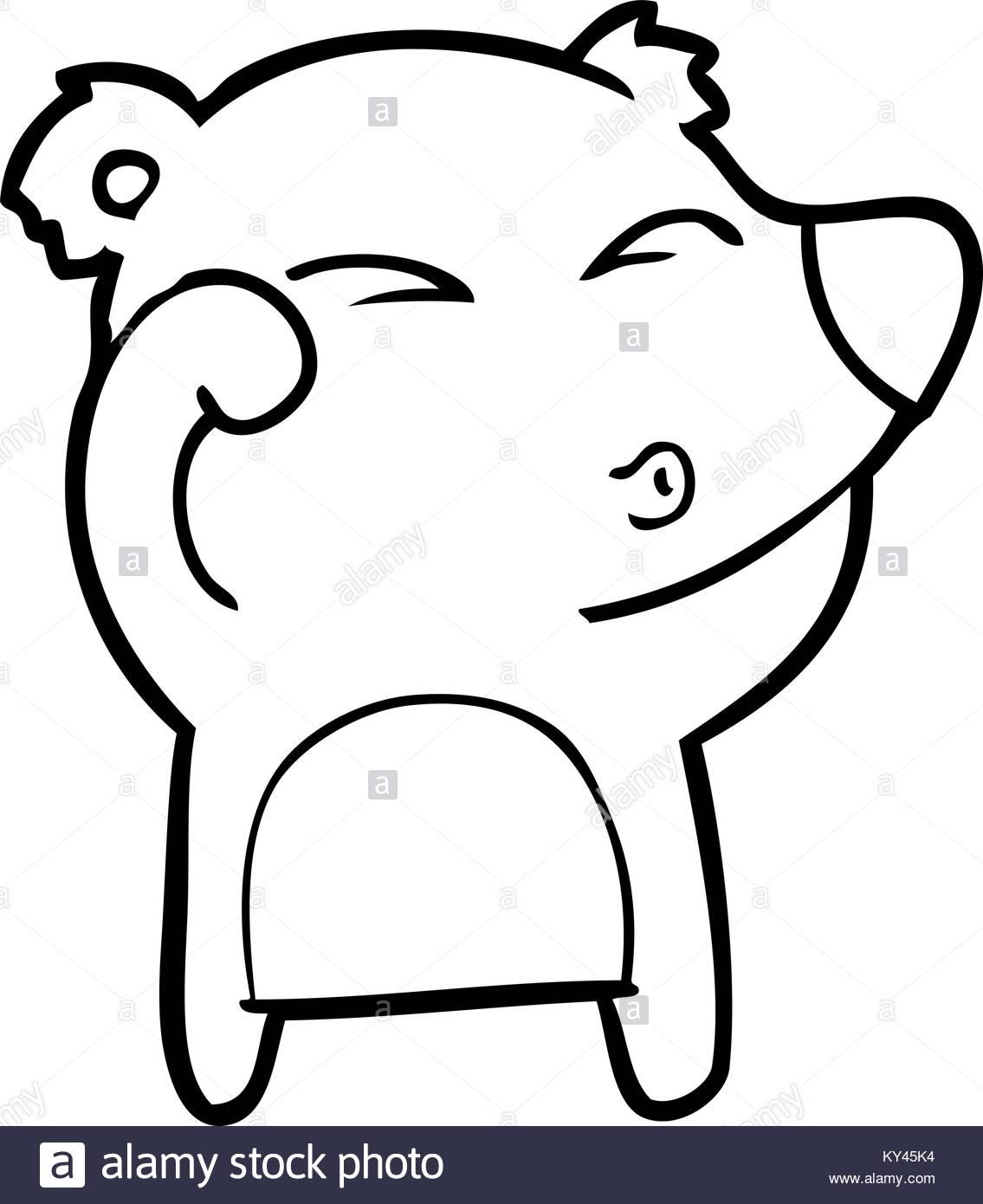 1135x1390 Cartoon Tired Bear Rubbing Eyes Stock Vector Art Amp Illustration