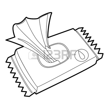 Tissue Box Drawing