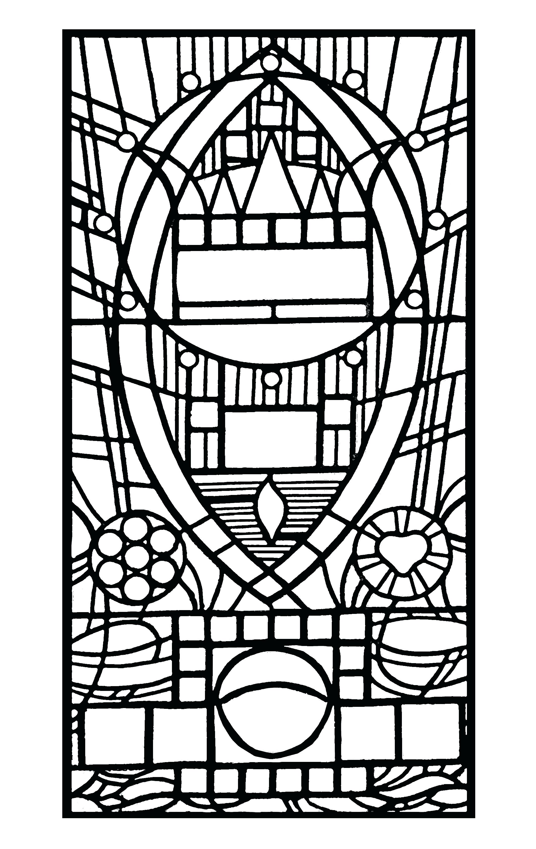 2126x3362 Stained Glass Window Stencils Stained Glass Of Tissue Paper Art