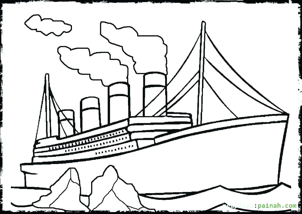 1024x728 Titanic Coloring Pages Central Press Images Titanic Coloring Book