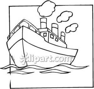 300x285 And White Drawing Of The Titanic