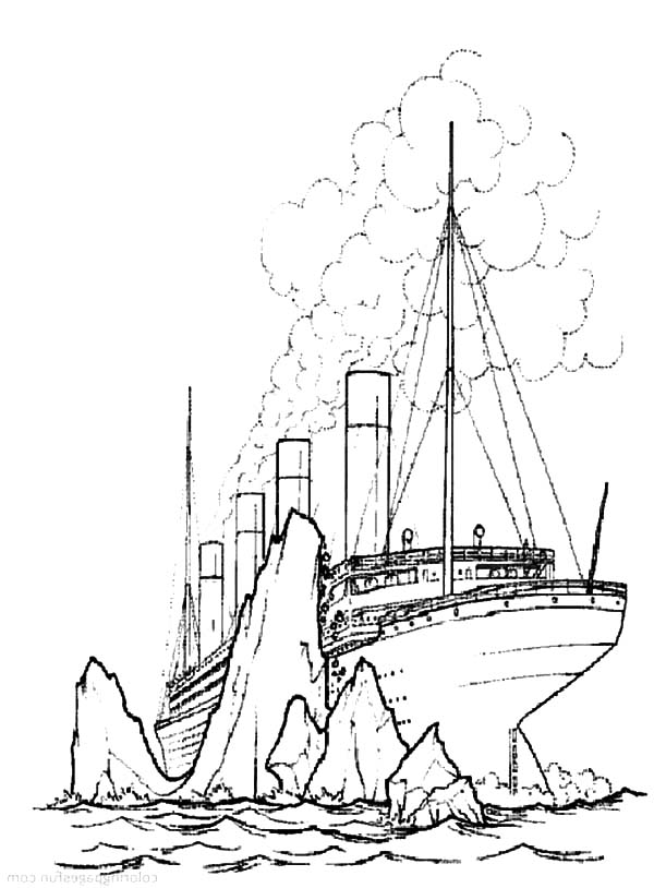 600x814 Titanic Coloring Pages 2 Batch Coloring