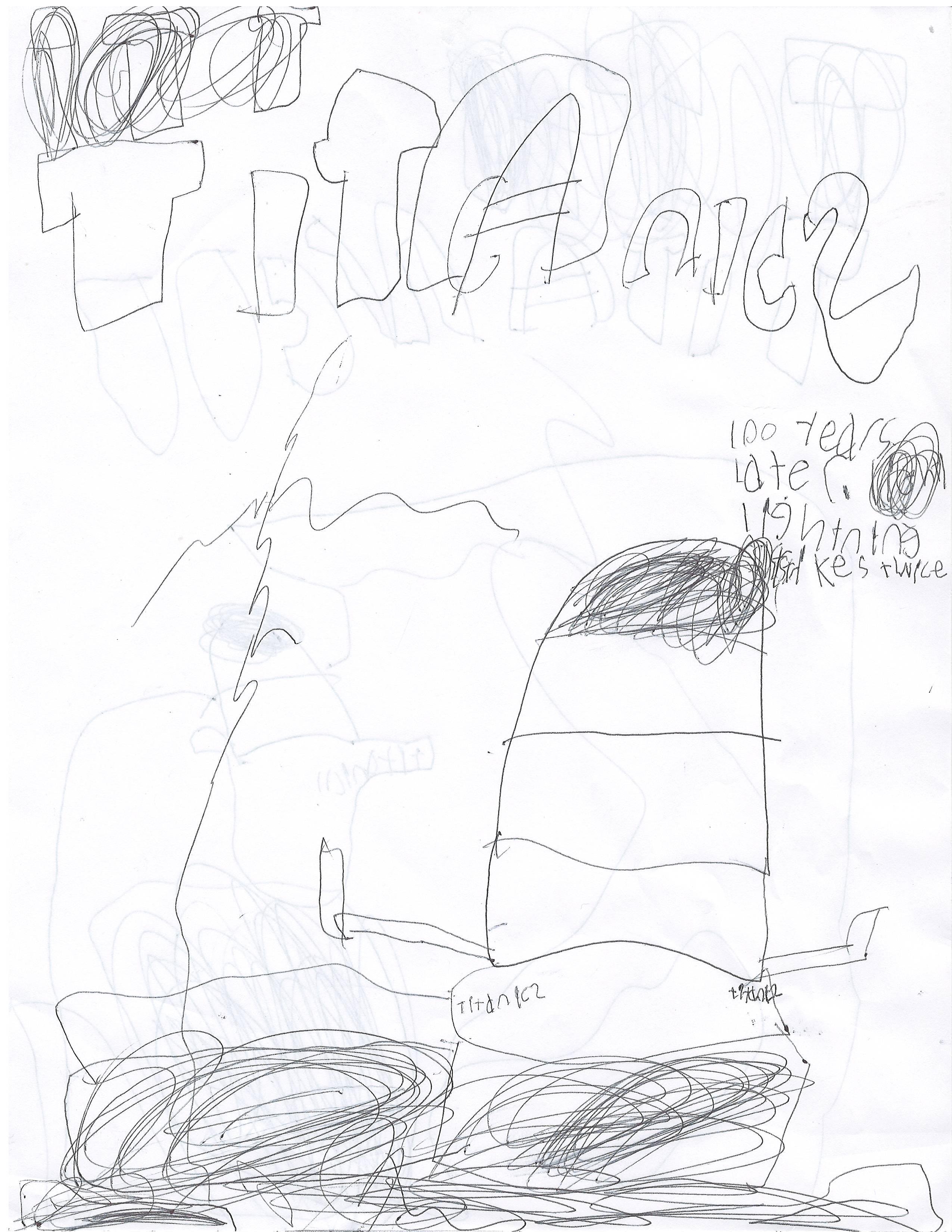 2550x3300 Titanic Drawings