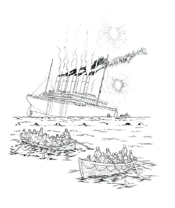 736x876 Top Rated Titanic Coloring Pages Pictures Titanic Coloring Pages