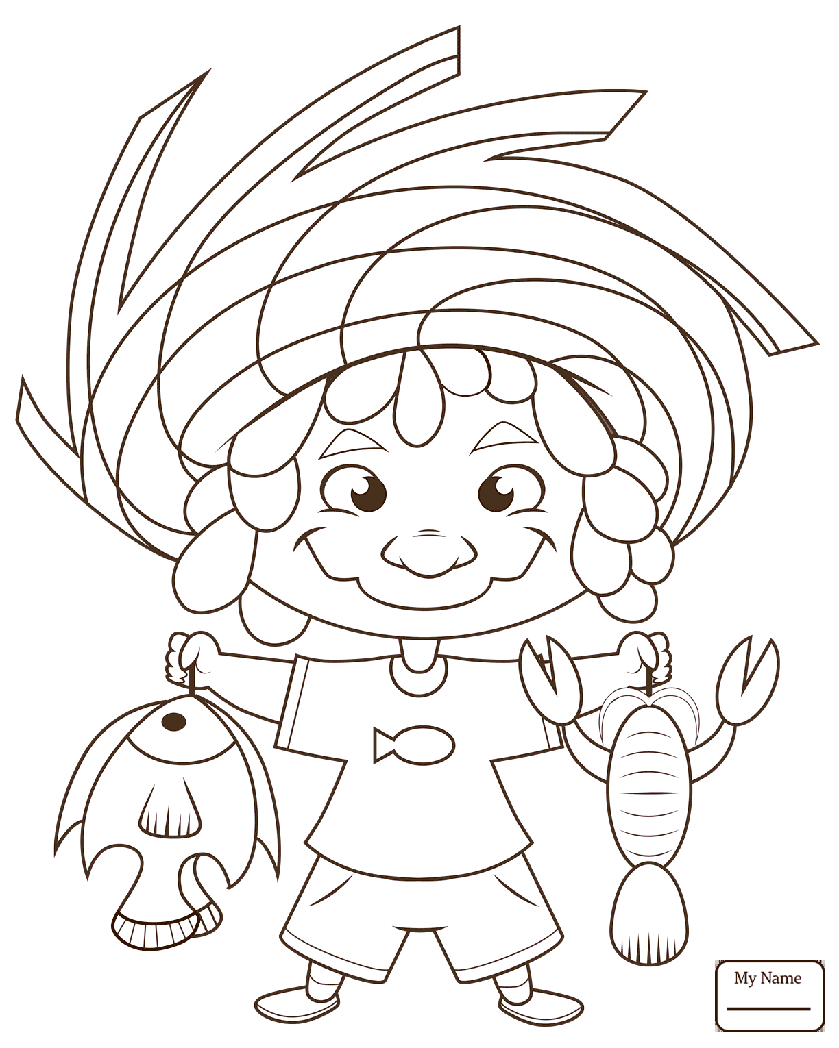 1224x1530 Coloring Pages Fishing A Dog Watched Titanic Movie Too Many Times