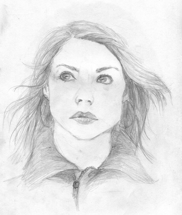 600x708 Rose Drawing Picture