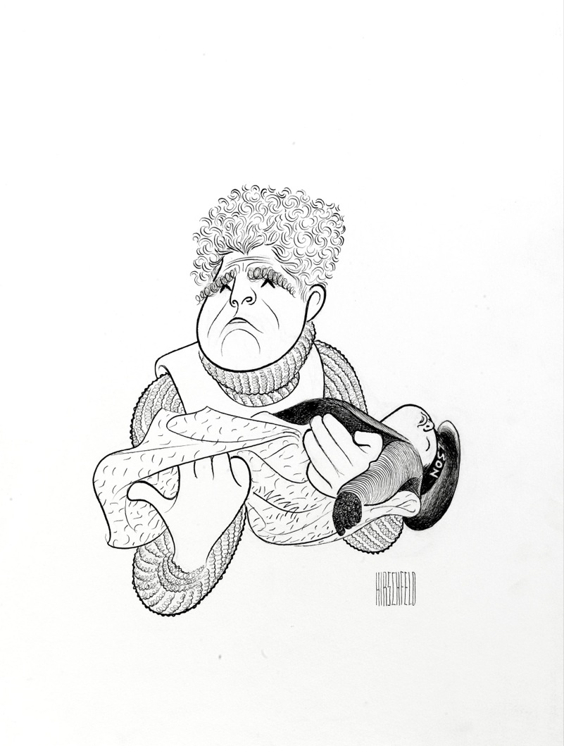 801x1059 Kenneth More In A Night To Remember By Al Hirschfeld