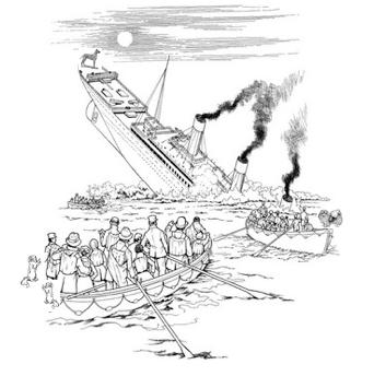 342x344 Three Dogs Survived The Titanic Englishclub