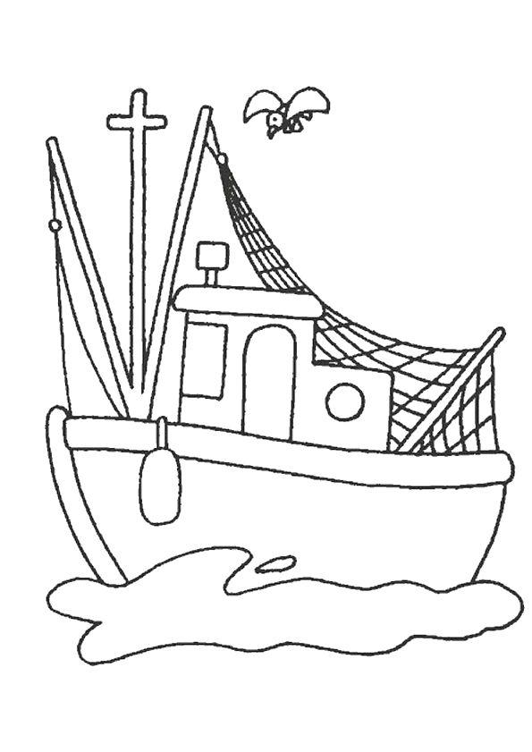 595x841 55 Best Coloriages De Bateaux Images On Party Boats