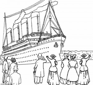 300x273 Titanic Coloring Pages Cool2bkids