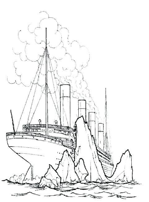 481x652 Titanic Coloring Page Titanic Sinking Colouring Page Lego Titanic