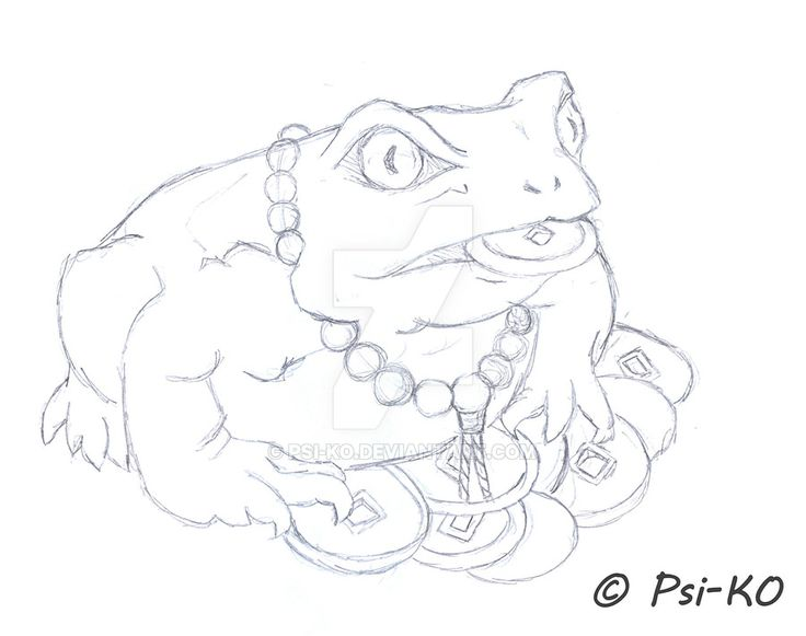 Toad Drawing