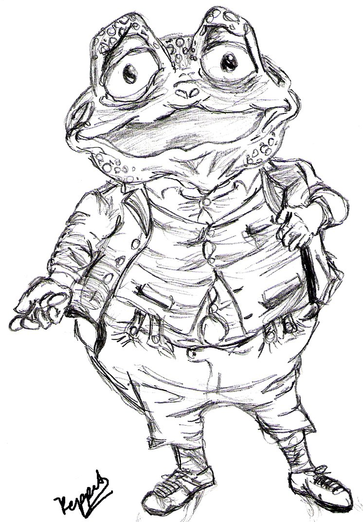 746x1072 Toad . Wind In The Willows By Keppit