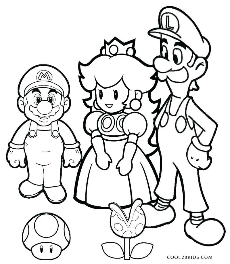 800x917 Mario Luigi Coloring Pages Coloring Page Mario Luigi And Toad