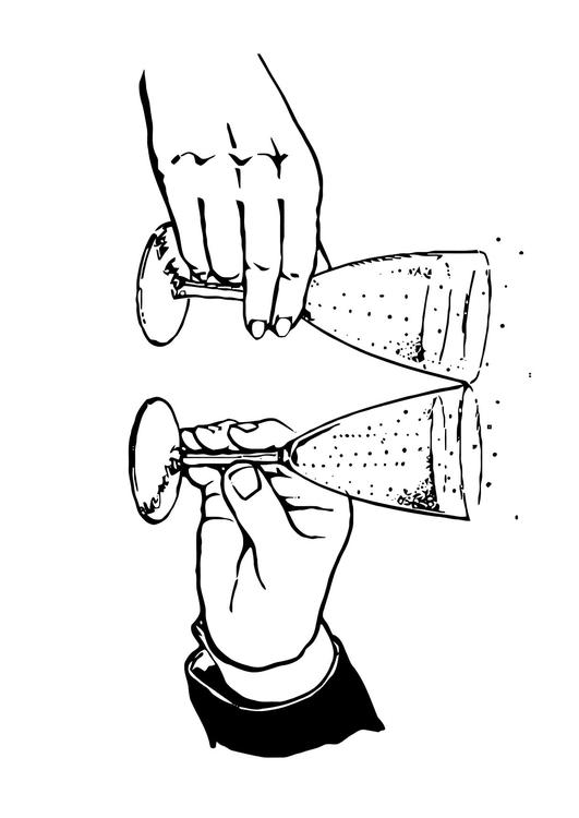 531x750 Coloring Page Toast