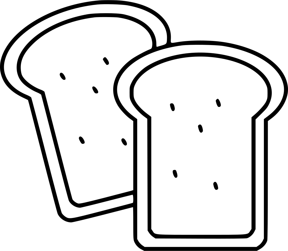 980x852 Toast Svg Png Icon Free Download ( 481444)
