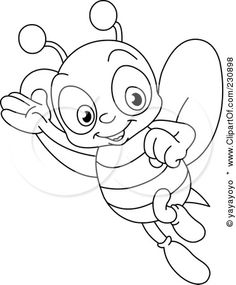 236x285 For Toddler Drawing Bee Newborn Baby Drawings