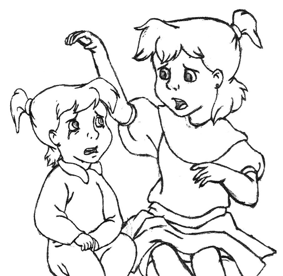 905x883 Kid Jenny Cheering Up The Crying Toddler Jenny By Prieston