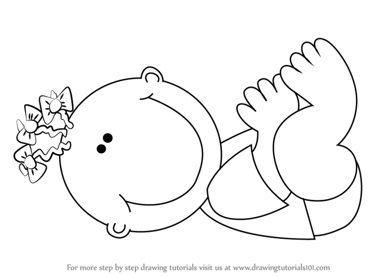 800x567 Learn How To Draw A Toddler (Girls) Step By Step Drawing Tutorials